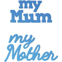 Couture Creations CO726084 My Mum My Mother Mini Steel Die