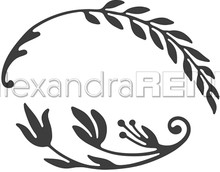 Alexandra Renke Dies-Ornamentic; Branch Right