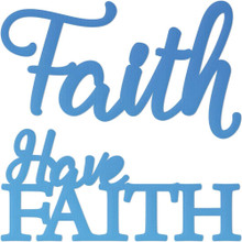 Couture Creations CO726110 Have Faith Mini Steel Die