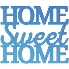 Couture Creations CO726099 Home Sweet Home Mini Steel Die