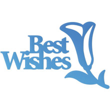 Couture Creations CO726087 Best Wishes Mini Steel Die