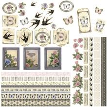 Ultimate Crafts Cardmaker's Paper Pack 12'X12' 14/Pkg-Rambling Rose
