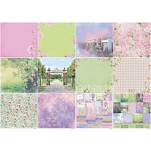 Scrapberry's In Bloom Paper Pack 12'x12' 12/pkg-