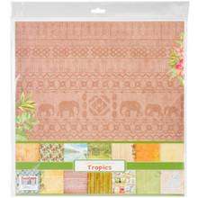 Scrapberry's Tropics Paper Pack 12'x12' 14/pkg-7 Double-sided Designs/2 Each