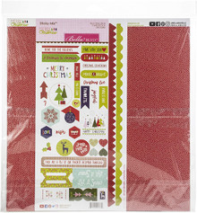 Bella Blvd Collection Kit 12'x12'-merry Christmas