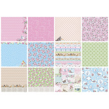 Scrapberry's A Furry Little Story Paper Pack 12'x12' 6/pkg-6 Double-sided