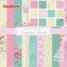 Scrapberry's Cherished Jewels Paper Pack 6''X6'' 24/Pkg-12 Single-Sided Designs/2 Each'