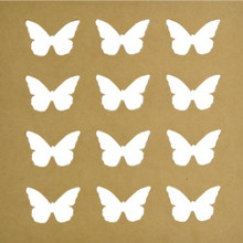 Kaisercraft SB2171 Beyond The Page MDF Butterflies Silhouette Wall Art Frame, 12 by 12-Inch by Kaisercraft