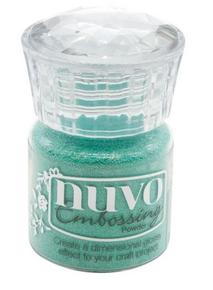 Nuvo Embossing Powder Turquoise Lagoon 616N
