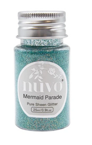 Nuvo Pure Sheen Glitter - 1.28oz - Mermaid Parade