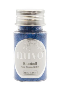 Nuvo Pure Sheen Glitter - 1.28oz - Bluebell