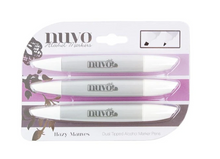 NUVO Dual Tip Alcohol Markers -- Hazy Mauves