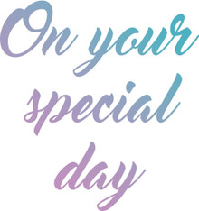 Couture Creations Le Petit Jardin Stamps-Mini Special Day, 1.9''X1.9'''
