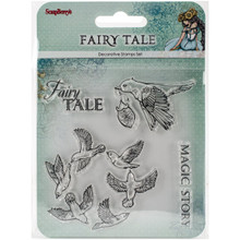 Scrapberry's Fairy Tale Clear Stamps 4'x4'-magic Story