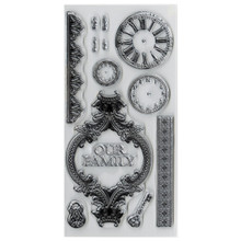 Kaisercraft Duchess Clear Stamps 8-1/4-Inch by 4-Inch Sheet