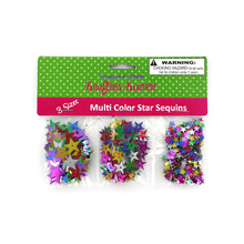 Kraft Corner Star-Shaped Craft Sequins