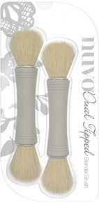 Nuvo Dual Ended Blender Brush 2/Pkg