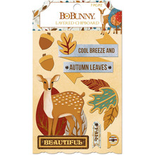 Bo Bunny Chipboard Embellishment - 7310329