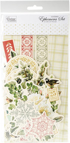 Couture Creations Let Every Day Be Christmas Ephemera-32/Pkg