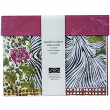 Karen Foster Design Modern Safari Notecards & Env  -- 12pcs