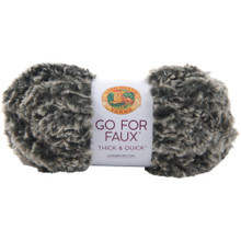 Lion Brand Yarn Go For Faux - Mink