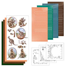 Find It Trading Dot and Do Card Kit Wild Animals