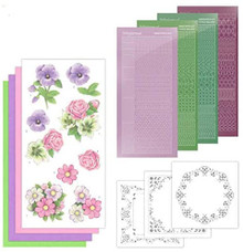Find It Trading Dot and Do Card Kit - Summer Flowers