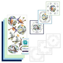 Find It Trading Stitch and Do Embroidery on Paper kit- Outback Birds - STDO130
