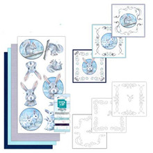 Find It Trading Stitch and Do Embroidery on Paper kit- Arctic Friends - STDO120