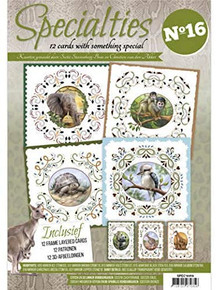 Find It Trading Specialties Number 16 Book SPEC10016 Embroidery On Paper