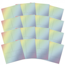 Hunkydory Picture Perfect Mirri Mats- Rainbow MCDM123