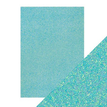 Craft Perfect Glitter Card 5PC -  Tropical Tide 9970E
