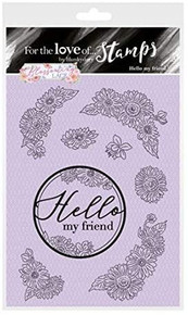 Hunkydory Crafts for The Love of Stamps -Blossoming Lace- Hello My Friend FTLS551