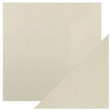 Craft Perfect Classsic Card Weave Texture - Oyster Grey
