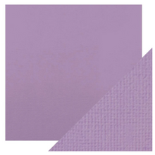 Craft Perfect Classsic Card Weave Texture - Mauve Purple