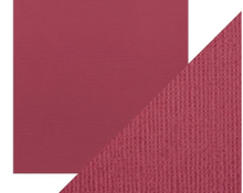 Craft Perfect Classsic Card Weave Texture - Raspberry Pink