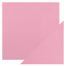 Craft Perfect Classsic Card Weave Texture - Blossom Pink