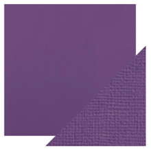 Craft Perfect Classsic Card Weave Texture - Amethyst Purple