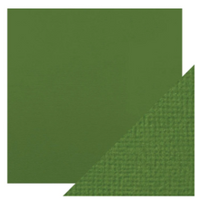 Craft Perfect Classsic Card Weave Texture - Fern Green