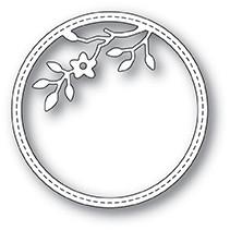 Memory Box Tree Blossom Stitched Circle Frame Die 99914
