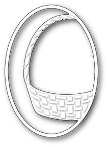 Memory Box  Gift Basket Oval Die 99649