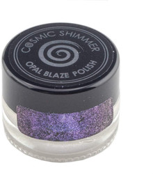 CREATIVE EXPRESSIONS Opal Blaze Polish - Sapphire Grape