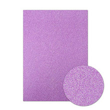 Hunkydory- Diamond Sparkles 10 A4 Sheets Shimmer Card- Purple Lavender- SFC003