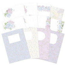 Hunkdory- Forever Florals Hydrangea- Luxury Card Inserts- FFHYDRA102