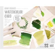 "Tonic Studios 9572E Watercolor Pad 8.5""X11"""