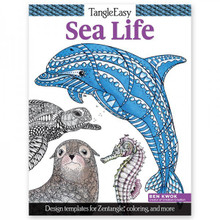 Tangleeasy Sea Life: Design Templates for Zentangle(r), Coloring, and More [paperback]