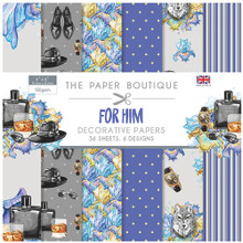 "The Paper Boutique for Him 6"" x 6"" Paper Pad"