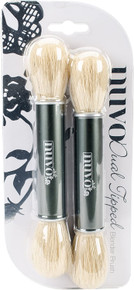 Nuvo Dual Tipped Blender Brush 2/Pkg