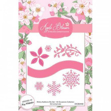 Apple Blossom Die Set Wintry Additions Set Of 7 | All Occasion Collection