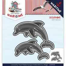 Amy Design Maritime Dolphins Cutting Die ADD10102